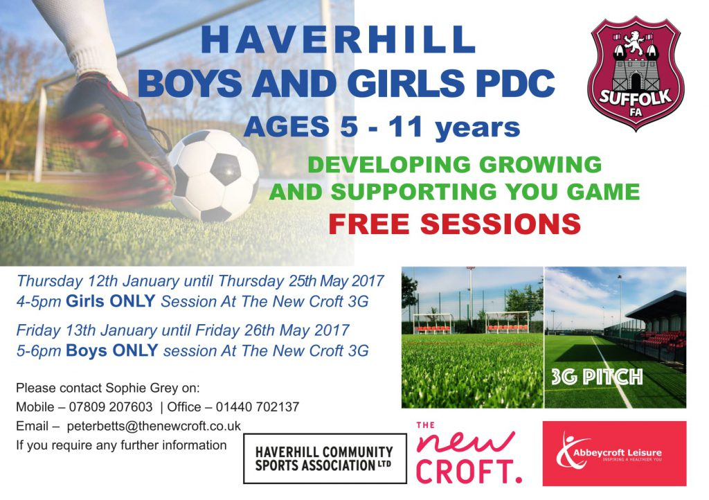 Girls' and Boys' PDC