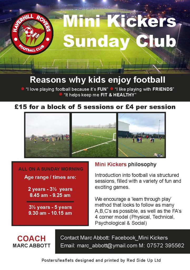 Mini Kickers Sunday Club