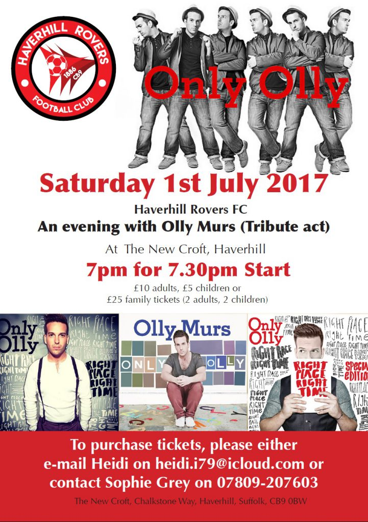 Only Olly – Olly Murs tribute act