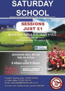 The New Croft Saturday School
