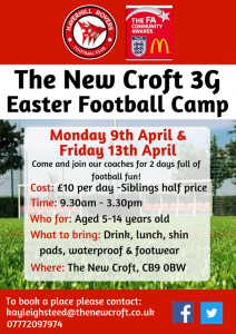 Easter Camp @ The New Croft
