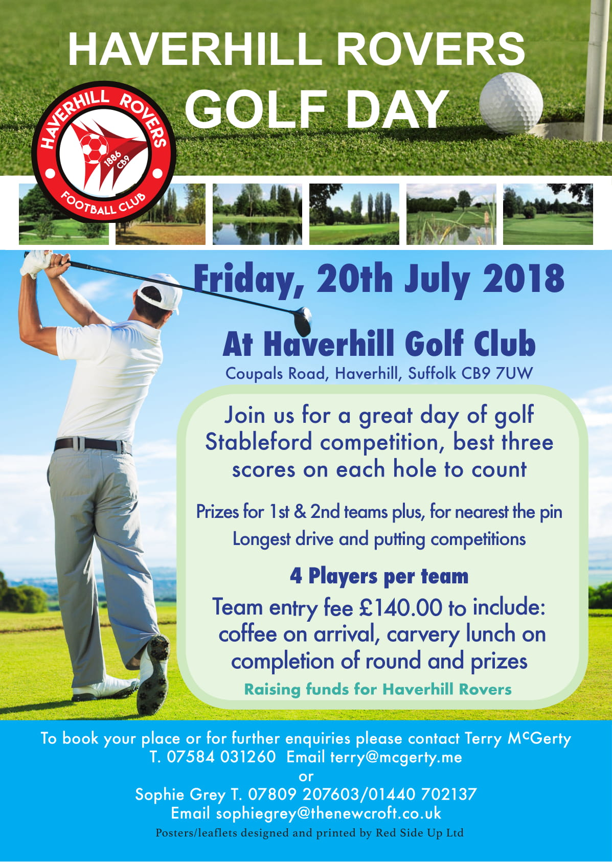 Haverhill Rovers Golf Day – Friday 20th July 2018