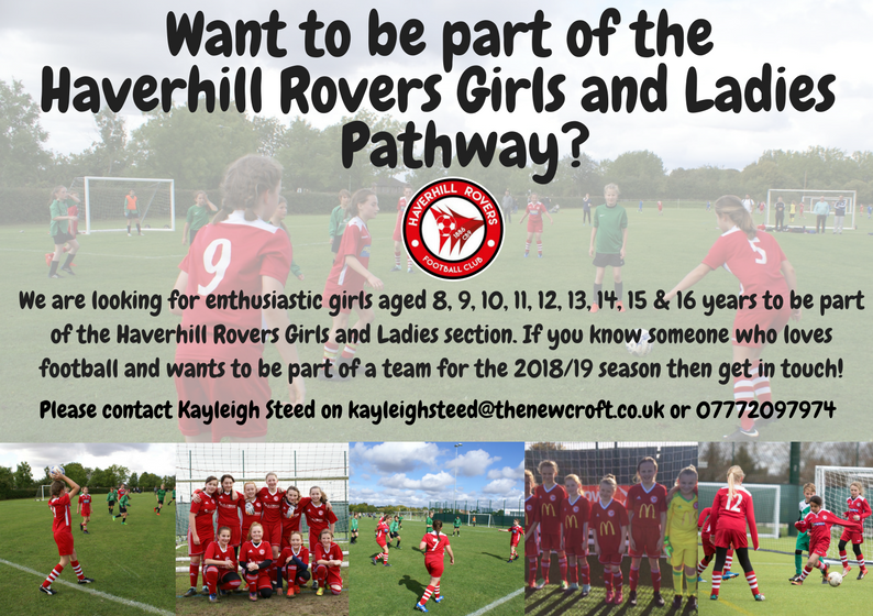 HRFC Girls & Ladies Pathway