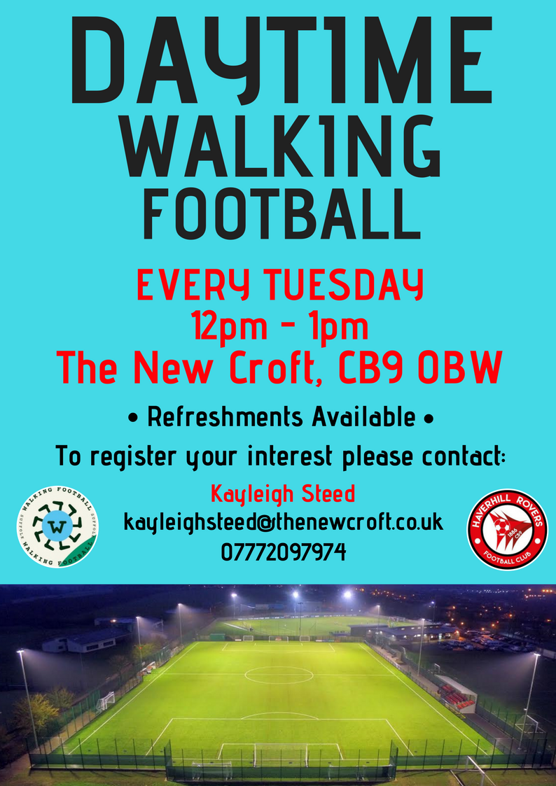 Daytime Walking Football @ The New Croft