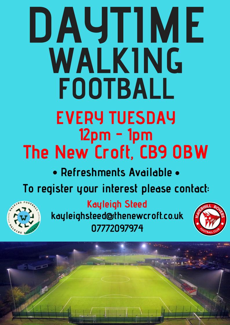 Daytime Walking Football @ The New Croft