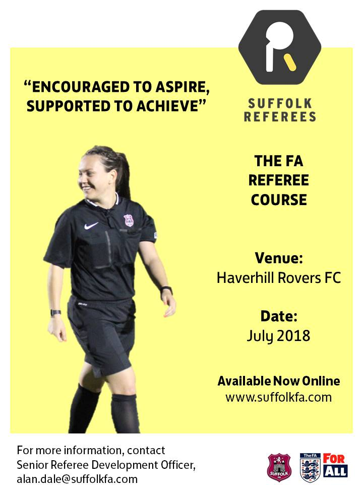 Suffolk Fa Referee Course
