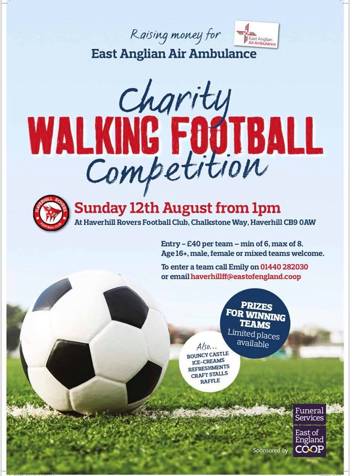 Charity Walking Football Event @ The New Croft