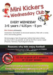 Mini Kickers Wednesday Club