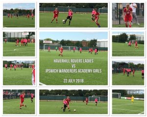 First Match for Rovers Ladies