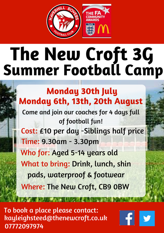 Summer Camp @ The New Croft