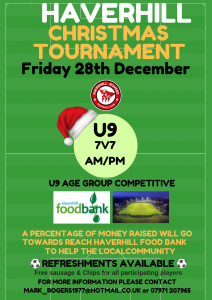 Christmas Football Tournaments