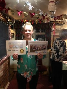 Well Done Kayleigh…..