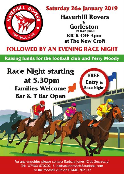 HRFC Racenight!