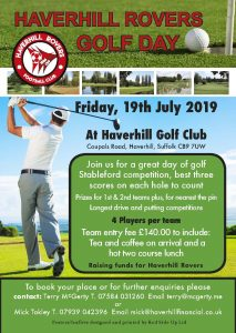 Haverhill Rovers Annual Golf Day