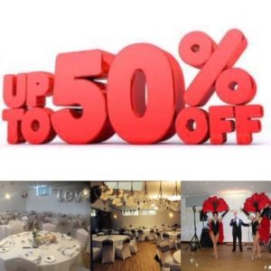 Special Offer On Function Bookings….