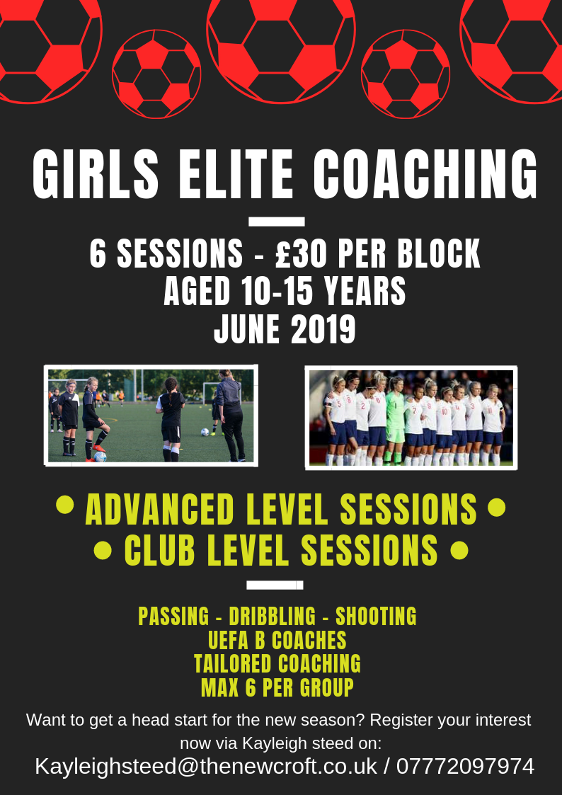 Girls Elite Coaching Sessions