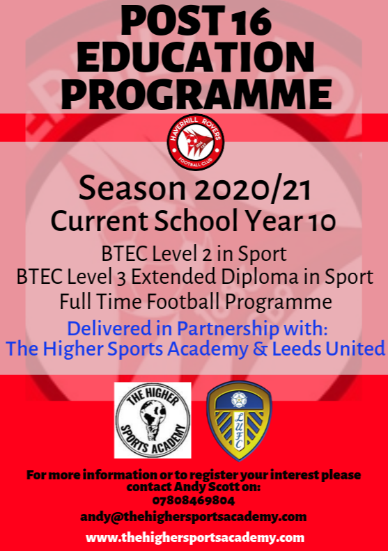 Post 16 Education Programme