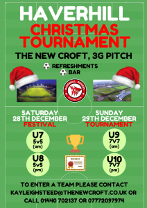 CHRISTMAS TOURNAMENT
