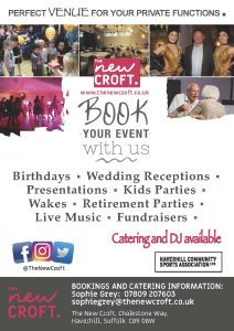 BOOK YOUR EVENTS
