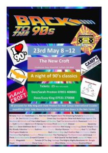 BACK TO THE 90'S DISCO 23rd May….