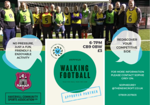 FRIDAY NIGHT WALKING FOOTBALL….