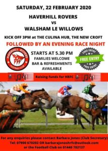 Haverhill Rovers Race Night