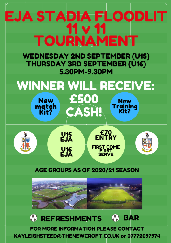 EJA Floodlit Tournaments Change Of Dates