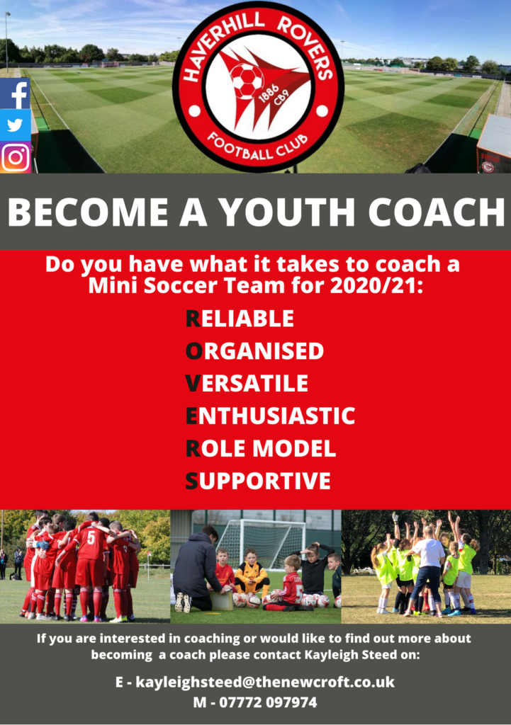 New Coaches Wanted!