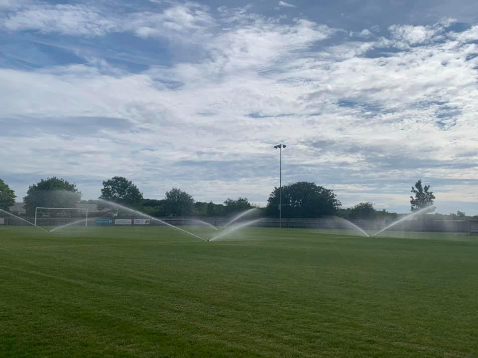 New Irrigation System!