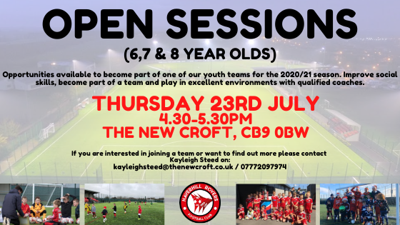 HRFC Open Sessions