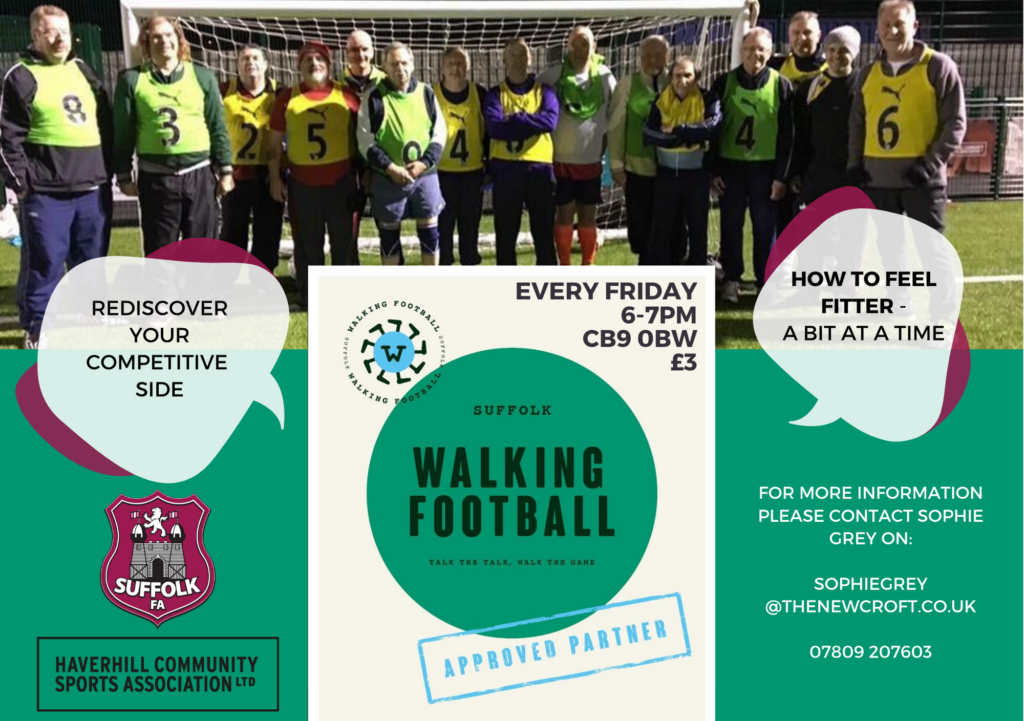 Walking Football is Back!