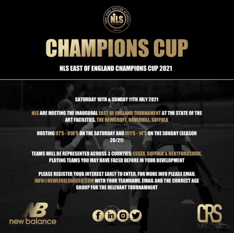 The New Croft host New Level Soccer Tournament