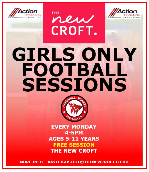 FREE GIRLS FOOTBALL SESSIONS