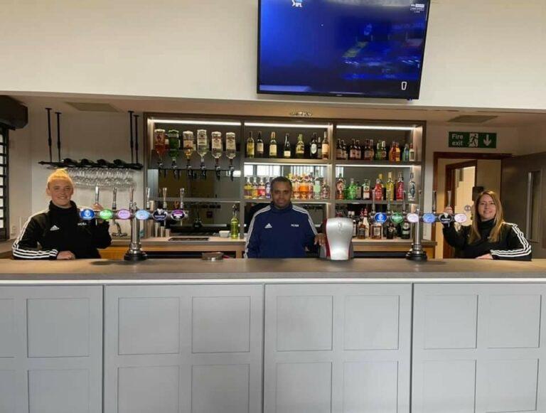 New Look Bar Operating at The New Croft….