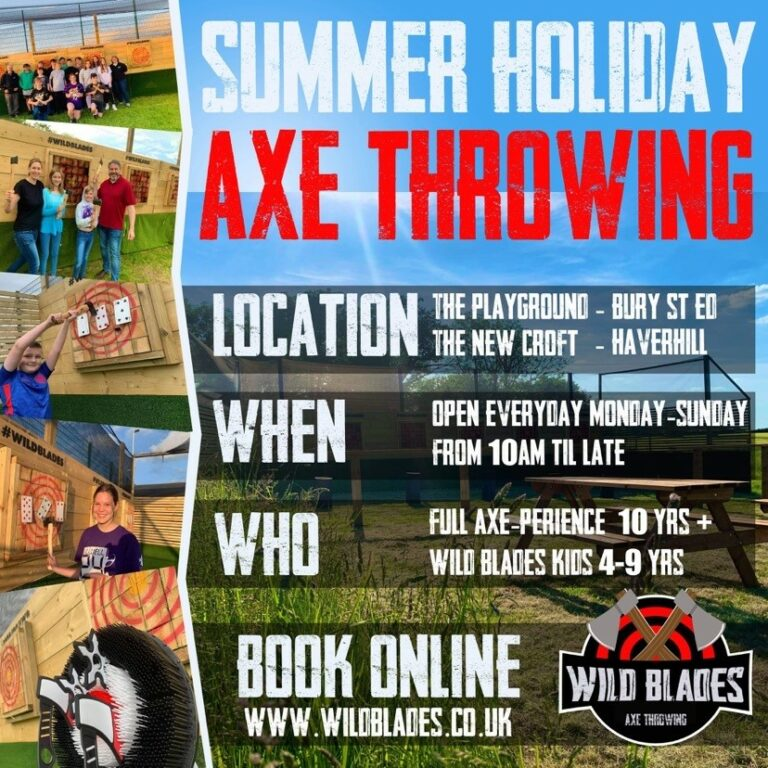 Summer Holidays with Wildblades