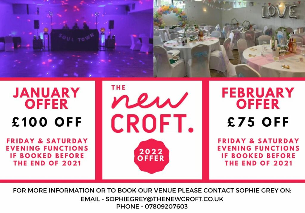 HALL HIRE OFFER