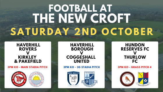 Football Frenzy @ The New Croft – THIS SATURDAY!